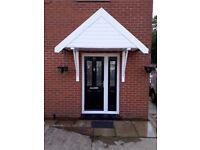 door canopy upvc