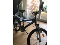 Boy's bike for sale - green, black and white