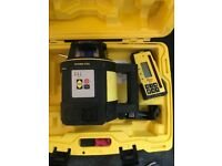 Leica rugby 820 rotational laser level