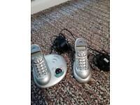 BT studio dual telephones