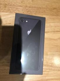 Brand new sealed I Phone 8 64gb space grey simfree