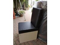 Vw t25 buddy seat and chemical toilet
