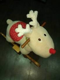Mama and Papas rocking reindeer
