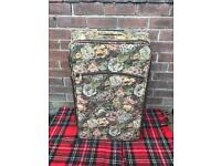 Skylite huge shabby chic vintage style tapestry suitcase case