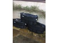 Macdee Water storage tanks 70x50x30 cm each, £50