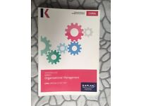 CIMA official study text P1 E1 F1 KAPLAN Mgmt Accounting Organisational Mgmt Financial Rep&Tax