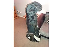 Golf clubs bag and extras
