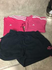 Girls gym clothes