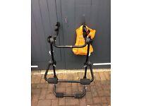 Halfords bike rack for back of car. Never used!