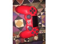 Brand new Ps4 controller (red)