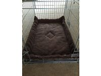 Large Dog Crate / Cage & Mat