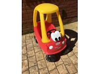 LITTLE TIKES CLASSIC COZY COUPE RIDE-ON CAR