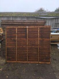 New fence panels 6x5.6