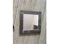 Slate mirror