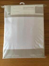 Mamas & Papas Cotbed Fitted Sheets (Pack of 2)