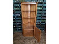 Ercol corner cabinet natural finish vintage Brighton + UK delivery gplanera