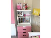 Ikea Stuva drawers and bookshelf! Excellent condition!
