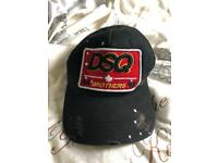 Dsquared DSQ cap in black
