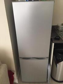 Grey fridge freezer