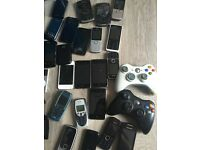 job lot bundle ideal project iPhone 4 iPods blackberry nokia tom-tom xbox spares repairs working