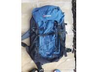 Rucksack 53L, Berghaus, travelling, hiking.