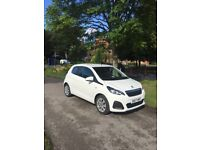 2017 17 PLATE PEUGEOT 108 ACTIVE 998cc LOW MILEAGE ROAD TAX FREE GREAT CONDITION
