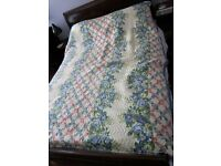 Vintage pre 1950s quilted blankets