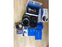 PSVR (PlayStation VR) headset package (including PS4 camera, carry case and VR worlds)