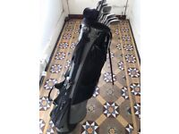 Set of King Cobra II golf clubs