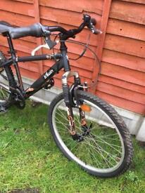 "Kids teens bike btwin 24"" wheels, fully works"