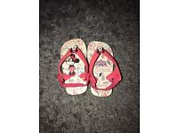 Minnie Mouse Havaianas - toddler size 3