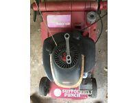 Free Suffolk punch petrol lawmower