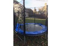 8ft Trampoline from TP (with enclosure and instructions)