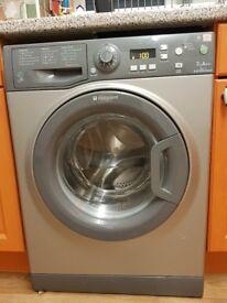Hotpoint Echo Tech 7kg A++ washing machine, graphite