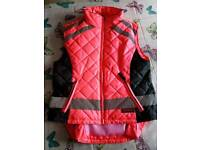 Hi Vis equestrian riding gilet size large 14 to 16