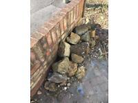 Free garden rocks