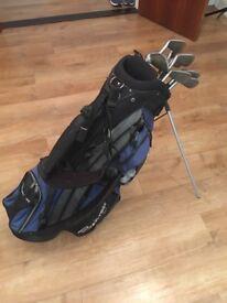 Cobra King golf clubs and bag
