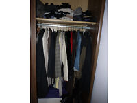 Would you like to view a beautiful wardrobe full of high end women's clothing?(Women only!!)