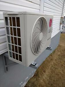 Professionally installed mini-split heat pumps from LG, Daikin, Samsung, Panasonic and more. Financing available!