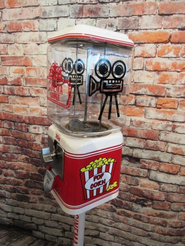 Cinema Home theater game room man cave custom Vintage Acorn gumball machine