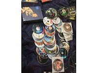 Over 300 dvds and cds job lot