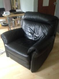 Leather Electronic Recliner