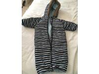 Baby winter buggy suit