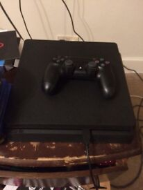 PS4 with Controller and 7 Games and year membership for free games
