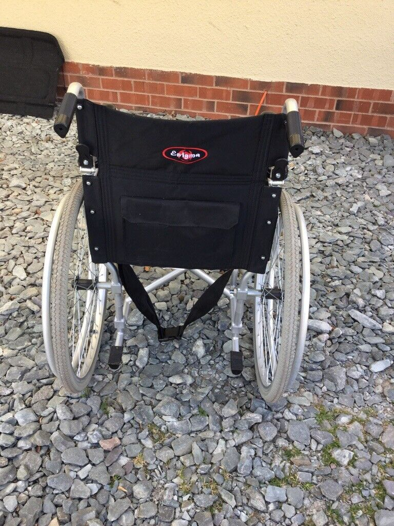 Enigma Drive Lightweight self Propelled Wheelchair | in ...
