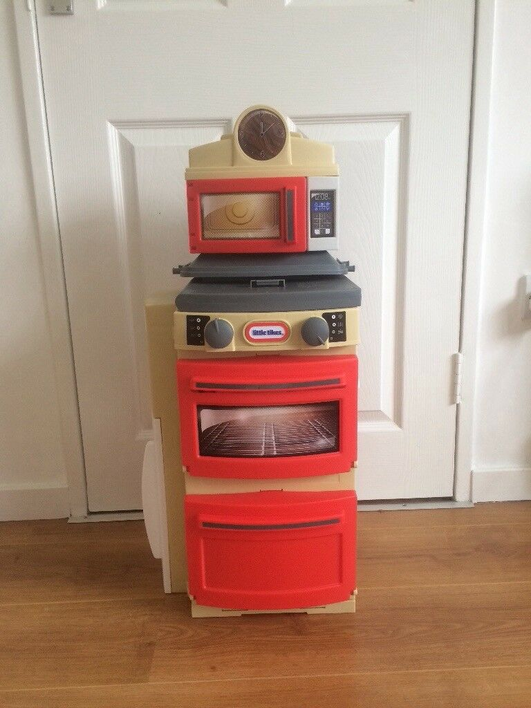 Little Tikes - Cook n Store Kitchen - Red