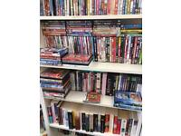 Books, DVD's and games