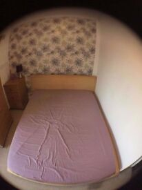 Ikea Double Bed with mattress - PRICE DROP FOR QUICK SALE £100