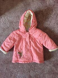3-6 baby girl Bambi coat