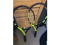 "Selling 2 Babolat Pure Aero Grip Size: L2 (4 1/4"")"